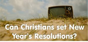 Christian New year's Resolution