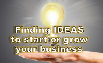 finding ideas for business