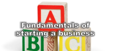 basics of starting a business