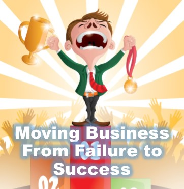 from business failure to success