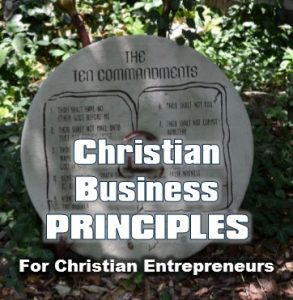 Christian Business Principles