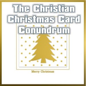 Christian Business Christmas card