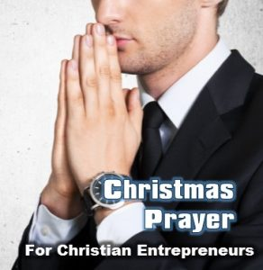 Christmas prayer for business