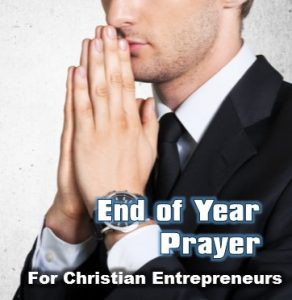 end of year prayer for business
